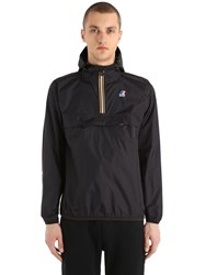 K Way Le Vrai 3.0 Leon Packable Nylon Anorak Black