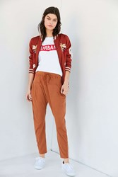 Out From Under Bright Side Knit Pant Rust