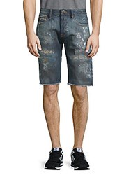 Cult Of Individuality Rebel Distressed Denim Shorts Chaos