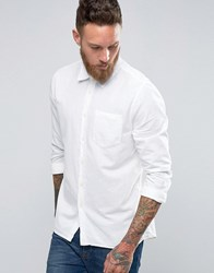 Nudie Jeans Henry Bastiste Shirt Off White