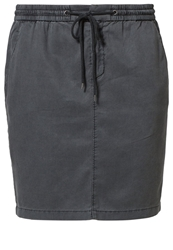 Marc O'polo Mini Skirt Charcoal Blue Grey
