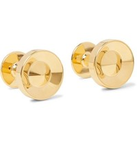 Alice Made This Alvar Gold Plated Cufflinks