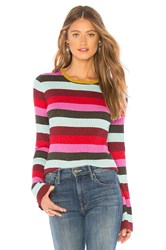 Blank Nyc Bell Sweater Red