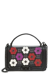 Rebecca Minkoff Love Floral Applique Crossbody Bag