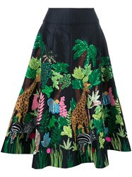 Manish Arora Safari Skirt Black