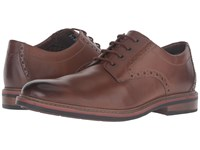 Bostonian Melshire Plain Tan Leather Men's Plain Toe Shoes