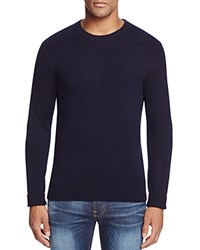 Bloomingdale's The Men's Store At Cashmere Crewneck Sweater Navy