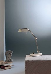 Holtkoetter 8346 Piano Table Lamp Silver
