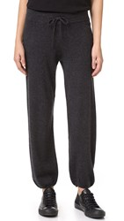 360 Sweater Cadence Cashmere Knit Pants Charcoal