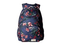 Roxy Shadow Swell Backpack Crown Blue Flower Games Backpack Bags Navy