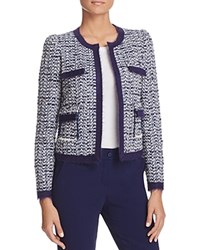 Paule Ka Tweed Jacket Blue