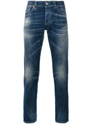 Dondup Tapered Jeans Blue