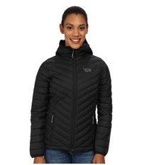 Mountain Hardwear Micro Ratio Hooded Down Jacket Black Women's Jacket