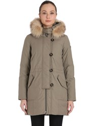 Peuterey Jambaz Hooded Down Parka With Fur Trim