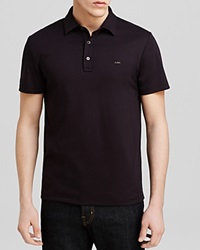 Michael Kors Sleek Logo Polo Regular Fit Black
