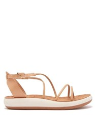 Ancient Greek Sandals Anastasia Leather Sandals Tan