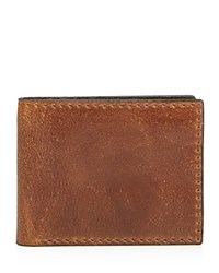 John Varvatos Star Usa Brooklyn Bifold Wallet Cognac
