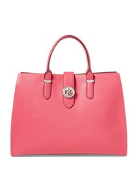 Lauren Ralph Lauren Charleston Satchel Rouge