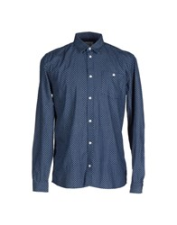 Suit Shirts Shirts Men Dark Blue