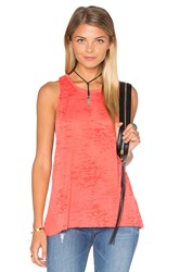 Nation Ltd. Dana Twist Back Tank Red