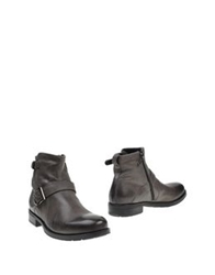 Byblos Ankle Boots Grey