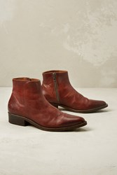 Selected Karla Ankle Boots Brown