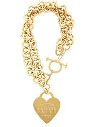 Maria Francesca Pepe Catilin Price Heart And Chain Necklace