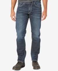Silver Jeans Co. Men's Eddie Relaxed Fit Taper Indigo
