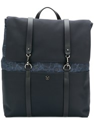 Mismo Ms Foldover Backpack Blue