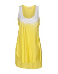 Ego E Go Tank Tops Yellow
