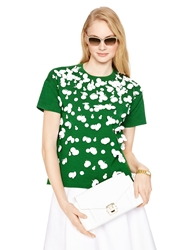 Kate Spade Madison Ave. Collection Sira Top Lucky Green