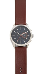 Marc By Marc Jacobs Chronograph Dillon Watch Stainless Steel Dark Blue