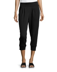Marc Ny Performance Pleated Terry Lined Sweatpants Black