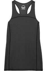 The Upside Mahina Stretch Jersey Tank Charcoal