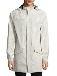 Efm Engineered For Motion Waterproof Hooded Jacket White