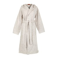 Missoni Home Rex Hooded Bathrobe 21 Cream