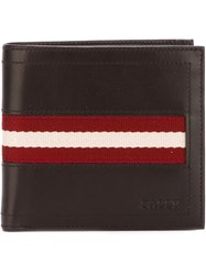 Bally Tollent Wallet Brown