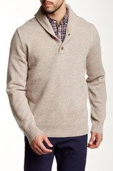 J.Crew Factory Lambswool Shawl Collar Sweater Multi