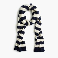 J.Crew Striped Pom Pom Hat