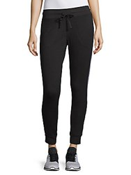Betsey Johnson Track Tape Sweatpants Charcoal