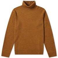 A.P.C. Marcelino Roll Neck Knit Brown