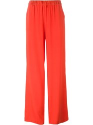 P.A.R.O.S.H. 'Sechiny' Palazzo Pants Red