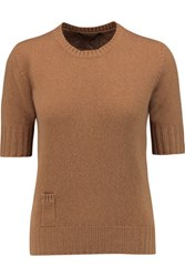 Agnona Cashmere Sweater Tan