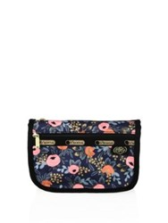 Le Sport Sac Rifle Paper Co. X Lesportsac Travel Cosmetic Pouch Rosa