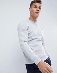 Only And Sons Crew Neck Sweat Grey