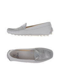 Fabi Footwear Moccasins Women Grey
