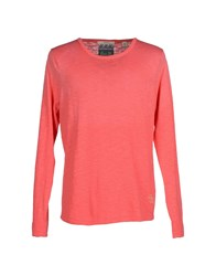 Scotch And Soda Knitwear Jumpers Men Coral
