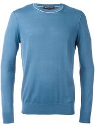 Michael Kors Knitted Sweater Blue
