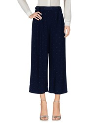 Ottod'ame Casual Pants Dark Blue