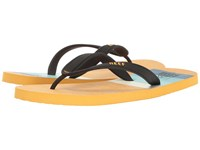 Reef Switchfoot Print White Yellow Blue Men's Sandals